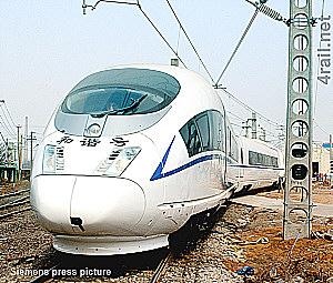 A CRH-3 in China