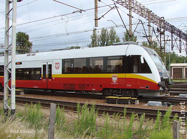 Województwa Małopolskiego class SA-133 in Krakow, Poland
